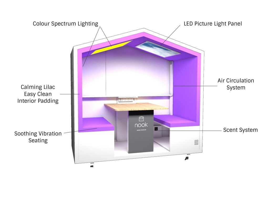 sensory nook – Nook – mobile meeting pod